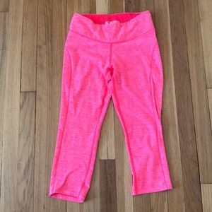 Pink New Balance work out leggings